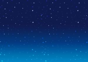 夜空_横長